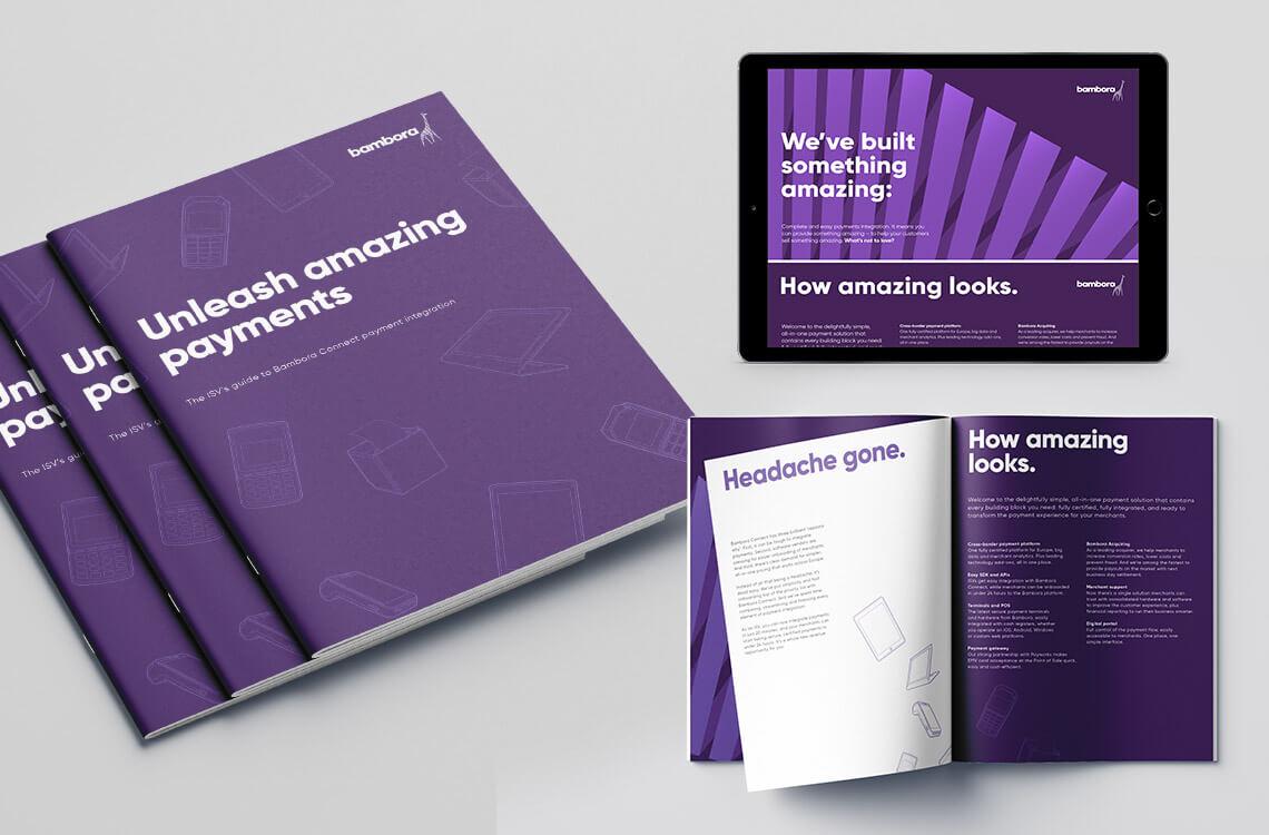 Print and digital brochure